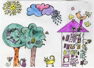 Конкурс детского рисунка проведет библиотека имени Василия Ключевского. Фото: архив, «Вечерняя Москва»