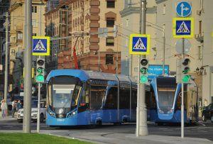 Движение трамвая №38 восстановили в районе. Фото: Александр Кожохин, «Вечерняя Москва»
