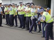 В Центральном округе прошел единый инструктаж нарядов полиции, заступающих на службу. Фото: пресс-служба УВД по ЦАО