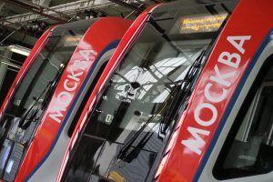 Новый поезд «Москва» запустили на Таганско-Краснопресненской линии метро. Фото: Антон Гердо, «Вечерняя Москва»