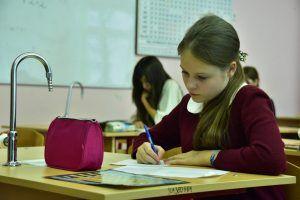 Ученица школы №1270 стала победителем городского конкурса. Фото: Антон Гердо, «Вечерняя Москва»