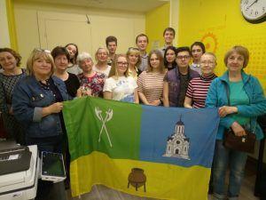 Активисты Молодежной палаты района провели мастер-класс по компьютерной грамотности для людей старшего возраста. Фото предоставлено представителями Молодежной палатой Таганского района