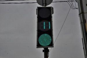 Несколько светофоров перенастроили в районе. Фото: Анна Быкова