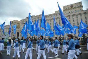 Студенты более 50 университетов примут участие в параде. Фото: Светлана Колоскова, «Вечерняя Москва»