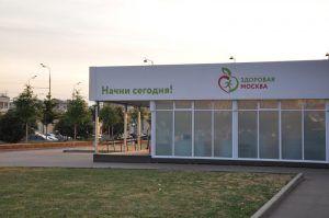 Павильоны «Здоровая Москва» будут работать до начала октября. Фото: Денис Кондратьев, «Вечерняя Москва»