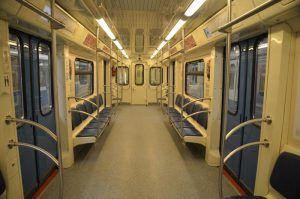 Тематический поезд «Здоровая Москва» начал курсировать по Кольцевой линии. Фото: Анна Быкова
