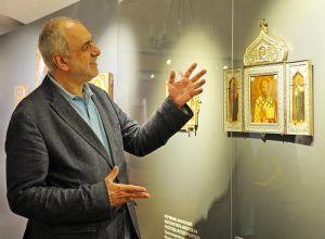 Встречу с кураторами выставки проведут в музее Рублева. Фото: Светлана Колоскова, «Вечерняя Москва»