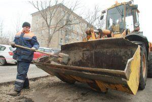 Ремонт дороги выполнили на двух улицах района. Фото: Наталия Нечаева «Вечерняя Москва»