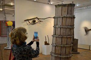 Персональную выставку столичного художника проведут в районной галерее. Фото: Анна Быкова