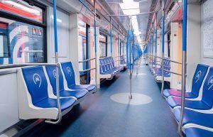 Тематический поезд запустили на Кольцевой линии метро. Фото: сайт мэра Москвы