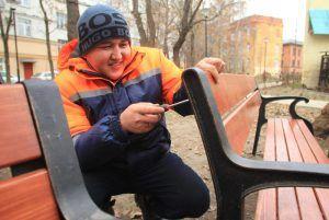 Около 30 дворов благоустроили в районе на средства от платных парковок. Фото: Наталия Нечаева, «Вечерняя Москва»
