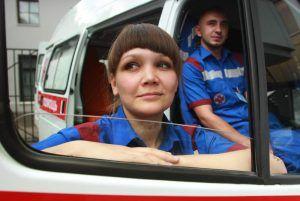 На Ассамблее «Здоровая Москва» представили скорые с искусственным сердцем. Фото: Наталия Нечаева, «Вечерняя Москва»
