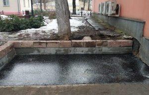 Ямочный ремонт выполнили на улице Александра Солженицына. Фото: Анна Быкова