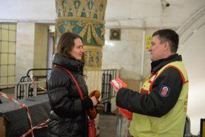 Более 2,3 миллионов пассажирок воспользовались бесплатным проездов на метро и МЦК. Фото: Александр Казаков, «Вечерняя Москва»
