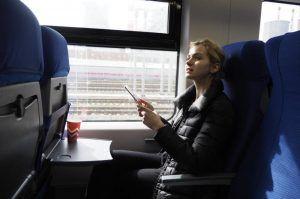 Около 440 миллионов пассажиров воспользовалось МЦК за все время его работы. Фото: Антон Гердо, «Вечерняя Москва»
