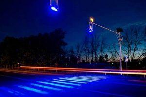 Новое контрастное освещение установят в Центральном округе для предотвращения ДТП. Фото: пресс-служба Префектуры ЦАО