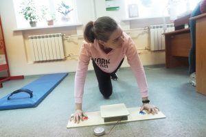 Представители Молодежной палаты района записали спортивную онлайн-тренировку. Фото: Павел Волков, «Вечерняя Москва»