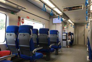 Вагоны тишины и «зеленые» сиденья появились на МЦК. Фото: Анна Быкова