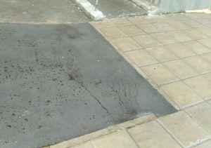 Ямочный ремонт дороги провели в одном из переулков района. Фото предоставлено ГБУ «Жилищник» Таганского района
