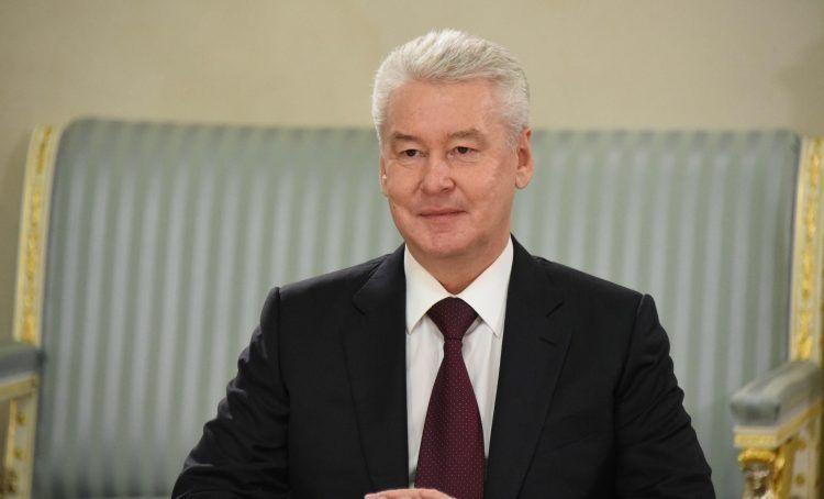 Мэр Москва Сергей Собянин