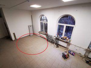 Работы по засыпке подвального помещения завершили в районе Хамовники