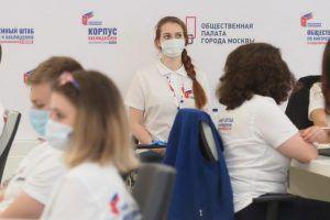 Наблюдатели отмечают максимальную открытость голосования в Москве. Фото: Антон Гердо, «Вечерняя Москва»
