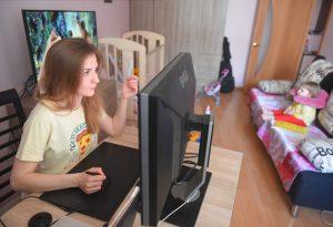Сотрудники центра «Моя карьера» проведут вебинар для НКО. Фото: Александр Кожохин, «Вечерняя Москва»