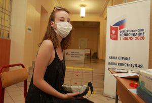 МГИК: В столице начался итоговый день голосования по Конституции. Фото: Наталия Нечаева, «Вечерняя Москва»