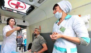 Прививки от гриппа рекомендуют сделать до наступления эпидемиологического сезона. Фото: сайт мэра Москвы