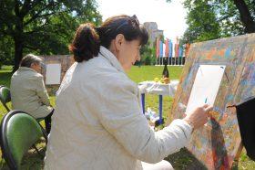 Сотрудники парка «Таганский» проведут мастер-класс по живописи. Фото: Александр Кожохин, «Вечерняя Москва»