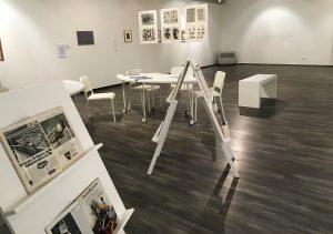 Мастер-класс по дизайну обложки журнала прошел в галерее «Здесь на Таганке». Фото: Анна Быкова
