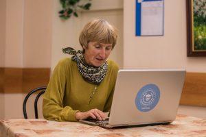 Почти 60 тыс часов онлайн-занятий провели в рамках «Московского долголетия». Фото: Михаил Подобед, «Вечерняя Москва»