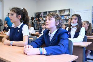 В школах Москвы возобновляется обучение с 1-5 классов. Фото: Алексей Орлов, «Вечерняя Москва»