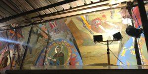 Москвичам рассказали о реставрации храма Знамения Иконы Божией Матери за Петровскими воротами. Фото: сайт мэра Москвы