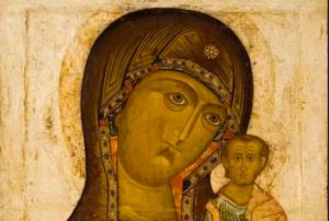 Представители музея Андрея Рублева рассказали об иконе Богоматери Казанской. Фото с сайта музея